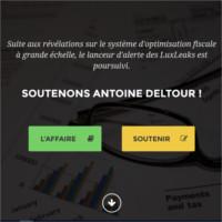 18 décembre 2014 –  Lancement d'un site internet de soutien à Antoine Deltour, lanceur d'alerte contre l'évasion fiscale