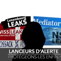 21 avril 2016 – 17 organisations de la société civile lancent une pétition pour renforcer la protection des lanceurs d'alerte en France