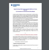 Lois sur la transparence de la vie publique et la lutte contre la délinquance financière – point d'étape octobre 2015