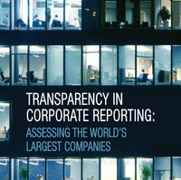 10 juillet 2012 – Une étude de Transparency International montre que les multinationales doivent être bien plus transparentes
