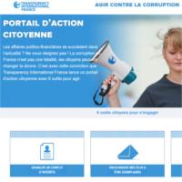 9 décembre 2014 : Transparency International France lance un portail d'action citoyenne pour agir contre la corruption