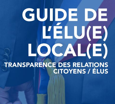 [Publication] Transparency France publie le « Guide de l'élu local : transparence des relations citoyens et élus »
