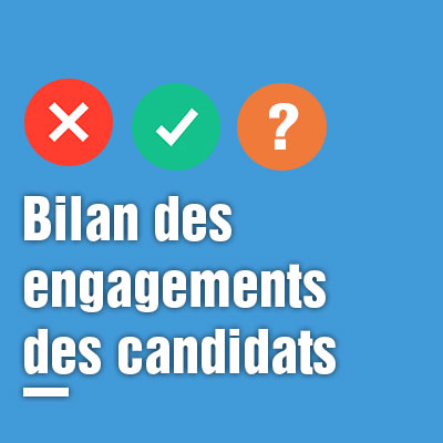 23/03/2017 : Transparence/éthique de la vie publique : les candidats s'engagent-ils ?
