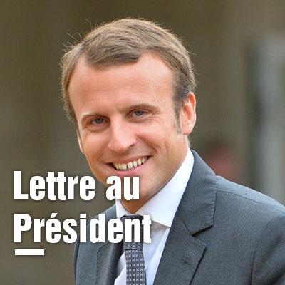 08/05/2017 – Lettre au nouveau Président de la République