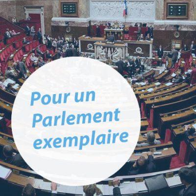 [Rapport] Six recommandations pour un Parlement exemplaire