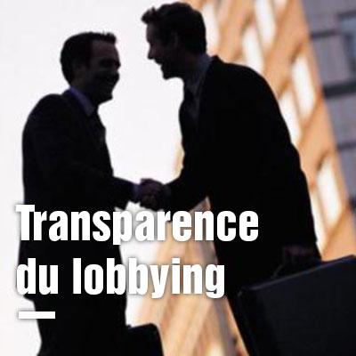 Transparence du lobbying : un décret très en-deça des attentes