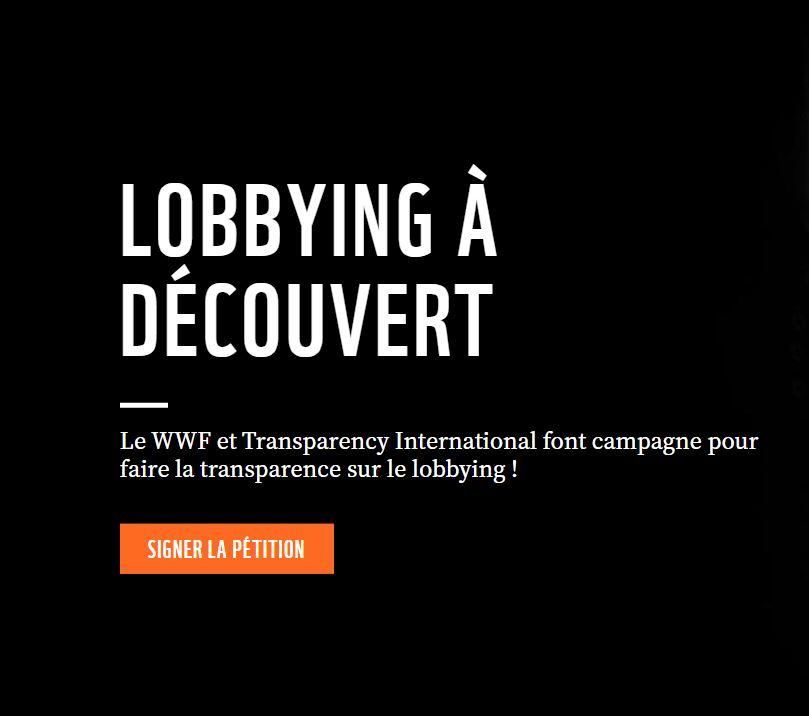 [Communiqué] Lobbying : exigeons la transparence !
