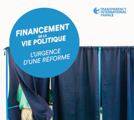 [Rapport] Financement de la vie politique, l'urgence d'une réforme