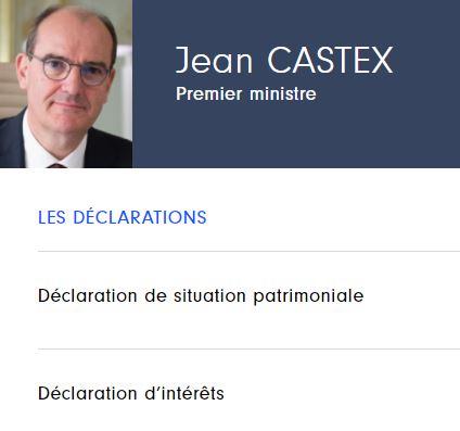 Déclarations d'intérêts et de patrimoine des membres du gouvernement Castex :  la HAVTP au contrôle